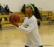 CIAC Girls Basketball Waterbury Career Fr. 19 vs. Holy Cross Fr. 44 (15)