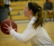 CIAC Girls Basketball Waterbury Career Fr. 19 vs. Holy Cross Fr. 44 (17)