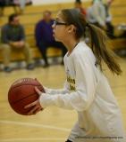 CIAC Girls Basketball Waterbury Career Fr. 19 vs. Holy Cross Fr. 44 (19)
