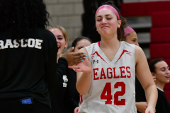 Gallery CIAC Girls Basketball; Wolcott vs. Holy Cross - Photo # 468