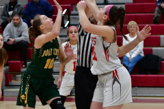Gallery CIAC Girls Basketball; Wolcott vs. Holy Cross - Photo # 491