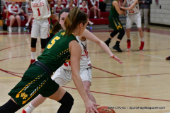Gallery CIAC Girls Basketball; Wolcott vs. Holy Cross - Photo # 496