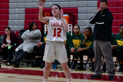 Gallery CIAC Girls Basketball; Wolcott vs. Holy Cross - Photo # 500