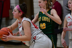Gallery CIAC Girls Basketball; Wolcott vs. Holy Cross - Photo # 512