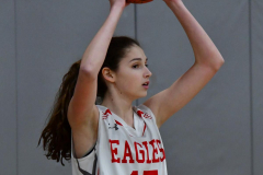 Gallery CIAC Girls Basketball; Wolcott vs. Holy Cross - Photo # 533