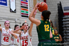 Gallery CIAC Girls Basketball; Wolcott vs. Holy Cross - Photo # 545