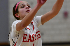 Gallery CIAC Girls Basketball; Wolcott vs. Holy Cross - Photo # 556