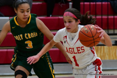 Gallery CIAC Girls Basketball; Wolcott vs. Holy Cross - Photo # 571