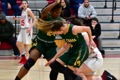 Gallery CIAC Girls Basketball; Wolcott vs. Holy Cross - Photo # 574