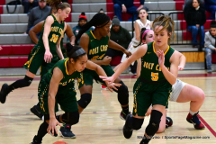 Gallery CIAC Girls Basketball; Wolcott vs. Holy Cross - Photo # 575