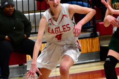 Gallery CIAC Girls Basketball; Wolcott vs. Holy Cross - Photo # 612