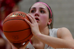 Gallery CIAC Girls Basketball; Wolcott vs. Holy Cross - Photo # 630