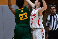 Gallery CIAC Girls Basketball; Wolcott vs. Holy Cross - Photo # 667