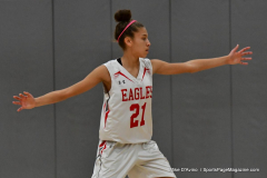 Gallery CIAC Girls Basketball; Wolcott vs. Holy Cross - Photo # 701