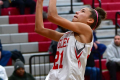 Gallery CIAC Girls Basketball; Wolcott vs. Holy Cross - Photo # 705