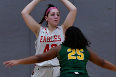 Gallery CIAC Girls Basketball; Wolcott vs. Holy Cross - Photo # 722