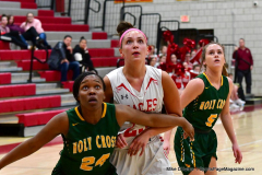 Gallery CIAC Girls Basketball; Wolcott vs. Holy Cross - Photo # 731