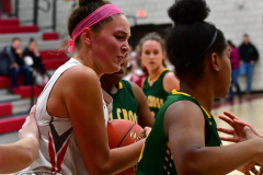 Gallery CIAC Girls Basketball; Wolcott vs. Holy Cross - Photo # 736