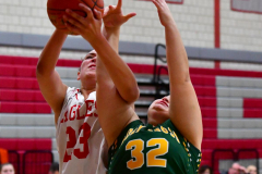 Gallery CIAC Girls Basketball; Wolcott vs. Holy Cross - Photo # 756