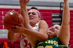 Gallery CIAC Girls Basketball; Wolcott vs. Holy Cross - Photo # 757