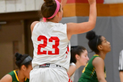 Gallery CIAC Girls Basketball; Wolcott vs. Holy Cross - Photo # 784
