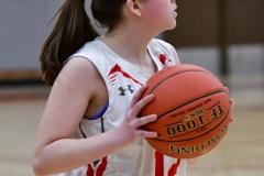 Gallery CIAC Girls Basketball; Wolcott vs. Holy Cross - Photo # 809