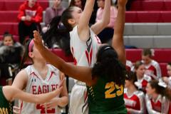 Gallery CIAC Girls Basketball; Wolcott vs. Holy Cross - Photo # 810