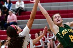 Gallery CIAC Girls Basketball; Wolcott vs. Holy Cross - Photo # 818