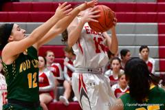 Gallery CIAC Girls Basketball; Wolcott vs. Holy Cross - Photo # 820
