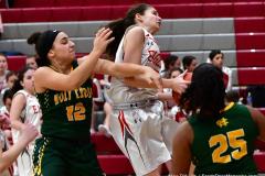 Gallery CIAC Girls Basketball; Wolcott vs. Holy Cross - Photo # 821