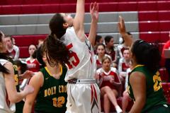 Gallery CIAC Girls Basketball; Wolcott vs. Holy Cross - Photo # 822