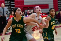Gallery CIAC Girls Basketball; Wolcott vs. Holy Cross - Photo # 826