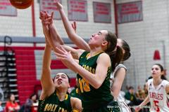 Gallery CIAC Girls Basketball; Wolcott vs. Holy Cross - Photo # 830