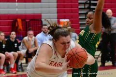 Gallery CIAC Girls Basketball; Wolcott vs. Holy Cross - Photo # 836