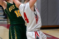 Gallery CIAC Girls Basketball; Wolcott vs. Holy Cross - Photo # 853