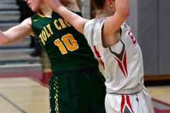 Gallery CIAC Girls Basketball; Wolcott vs. Holy Cross - Photo # 854