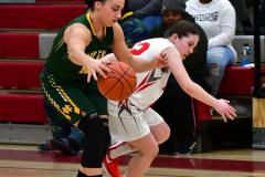 Gallery CIAC Girls Basketball; Wolcott vs. Holy Cross - Photo # 855
