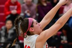 Gallery CIAC Girls Basketball; Wolcott vs. Holy Cross - Photo # 864