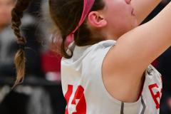 Gallery CIAC Girls Basketball; Wolcott vs. Holy Cross - Photo # 865