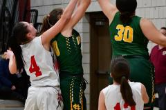 Gallery CIAC Girls Basketball; Wolcott vs. Holy Cross - Photo # 868