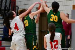 Gallery CIAC Girls Basketball; Wolcott vs. Holy Cross - Photo # 869