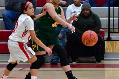 Gallery CIAC Girls Basketball; Wolcott vs. Holy Cross - Photo # 873
