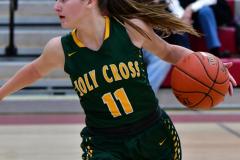 Gallery CIAC Girls Basketball; Wolcott vs. Holy Cross - Photo # 874