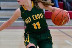 Gallery CIAC Girls Basketball; Wolcott vs. Holy Cross - Photo # 875