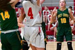 Gallery CIAC Girls Basketball; Wolcott vs. Holy Cross - Photo # 886