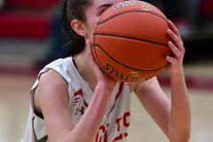 Gallery CIAC Girls Basketball; Wolcott vs. Holy Cross - Photo # 887