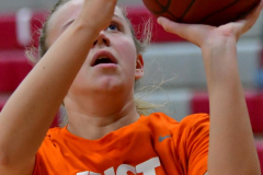 CIAC Girls Basketball; Wolcott vs. Watertown - Photo # 029