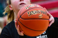CIAC Girls Basketball; Wolcott vs. Watertown - Photo # 053