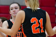 CIAC Girls Basketball; Wolcott vs. Watertown - Photo # 063