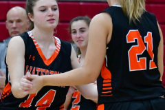CIAC Girls Basketball; Wolcott vs. Watertown - Photo # 067